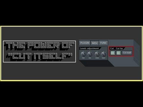 FL STUDIO 11 Tutorial: The Power of Cut Itself - (@Beatstruggles)