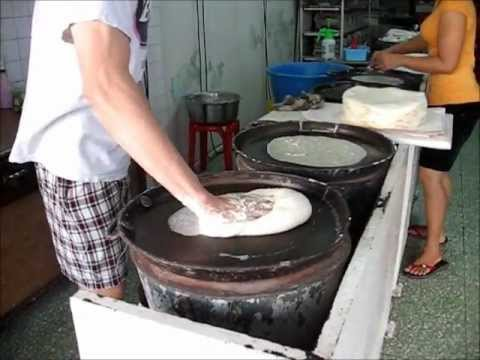The Making of Chinese Spring Roll skin / Spring Roll Wrapper / Popiah Skin