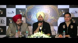 Press Conference | Ishq Haazir Hai | Diljit Dosanjh | Wamiqa Gabbi | Filmy Shots