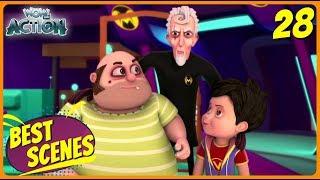 BEST SCENES of VIR THE ROBOT BOY | Animated Series For Kids | #28 | WowKidz Action