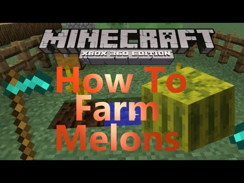 Minecraft Xbox 360 How To Farm Melons