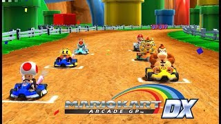Mario Kart Arcade GP DX (TeknoParrot) HD Gameplay - myvideoplay com