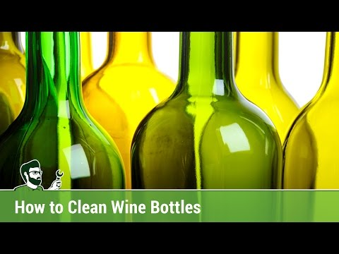How to Clean Wine Bottles