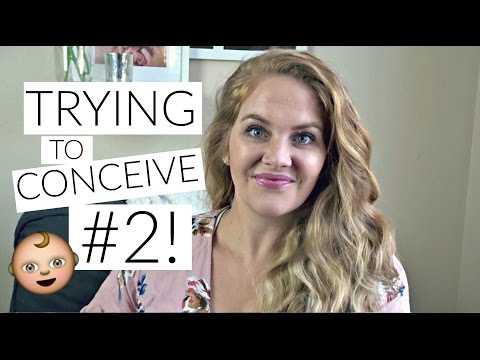 OFFICIALLY TRYING TO CONCEIVE BABY #2! // HOW I GOT PREGNANT SO QUICKLY THE FIRST TIME!