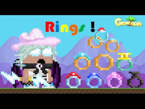 Growtopia | All The Ringmaster's Rings Review 8 Rings!