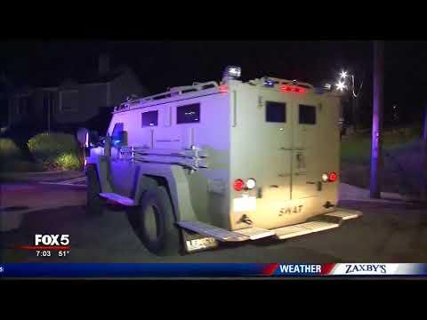 Standoff continues in northwest Atlanta
