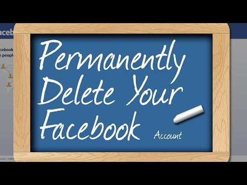 How To Permanently Delete/Remove Facebook Account - Facebook Guide
