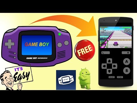 HOW to PLAY and GET GBA GAMES on PHONE with MYBOY for FREE NO ROOT