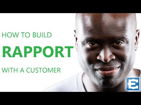 How to build rapport with a customer! Are you aware of the people around you?
