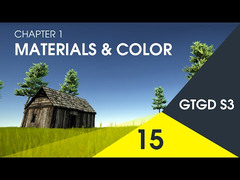 [15] Materials & Color - How To Make A Game