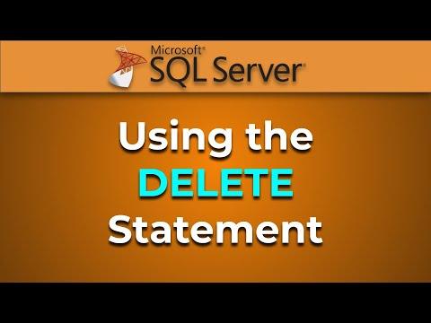 Advanced Databases - DELETE and TRUNCATE tables (SQL Server)