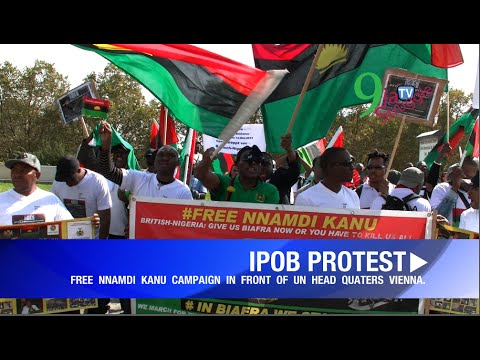 IPOB AUSTRIA-FREE NNAMDI KANU CAMPAIGN PART 5 On the 23rd Sep.2016