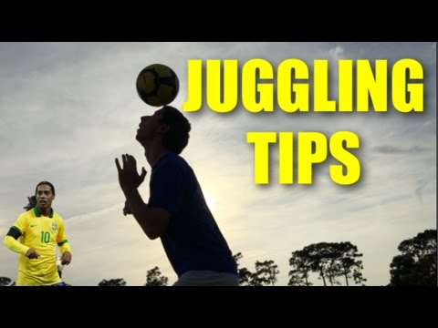 How to Juggle a Soccer Ball!   Tips