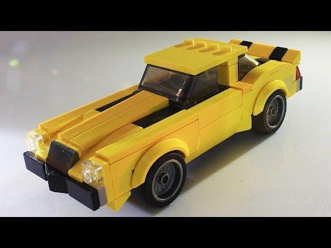 Lego Transformers Bumblebee Camaro MOC