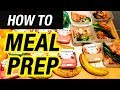 How to Meal Prep for Beginners   Step by Step WEIGHT LOSS DIET GUIDE ➟Best Meal Plan for Cutting Fat