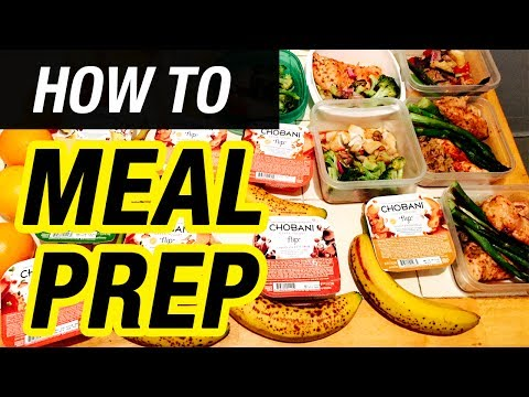 How to Meal Prep for Beginners | Step by Step WEIGHT LOSS DIET GUIDE ➟Best Meal Plan for Cutting Fat