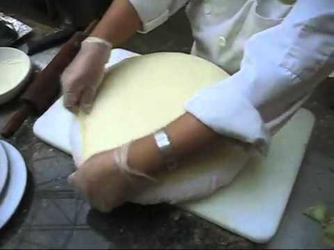 Saj bread-lebanese bread.flv