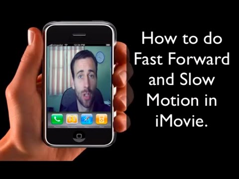 How To Fast Forward and Slow Motion on iMovie 11