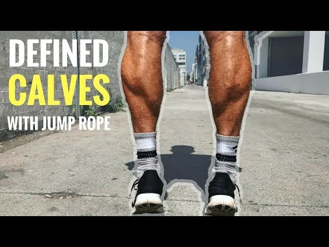 How To Get Defined Calves With Jump Rope
