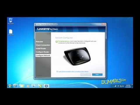 How to Set Up a Wireless Network in Windows 7 For Dummies