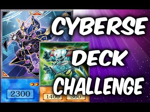 Yugioh CYBERSE DECK BUILDING CHALLENGE (Yu-gi-oh Deck building!)