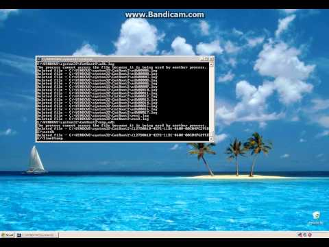 Deleting Everything on Windows XP with a Batch file
