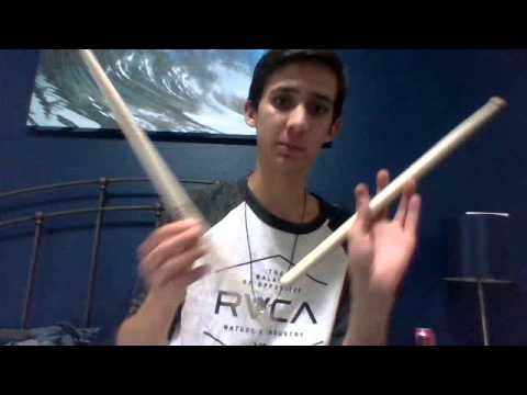 How to play marching snare drum: part 1, holding a stick and basic strokes