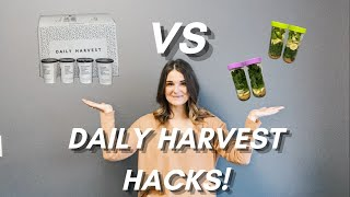 How To Make Daily Harvest Smoothies!   BALLIN' ON A BUDGET!