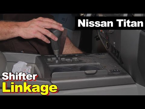 Nissan Titan Loose Shifter Broken Gear Shift Cable Bushing Linkage Lever Same As Armada