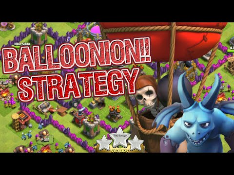 Clash of Clans | 3-Star TH7 Attack Strategy Balloons and Minions