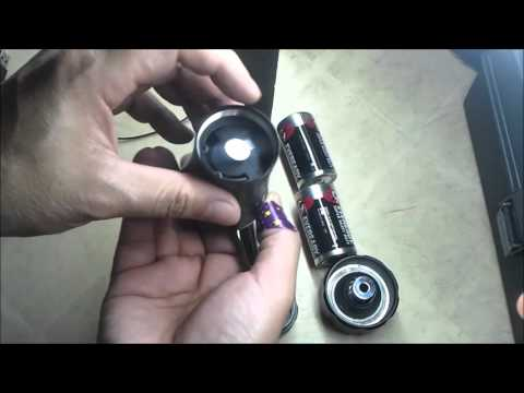DIY How to make a lightsaber hilt from a flashlight