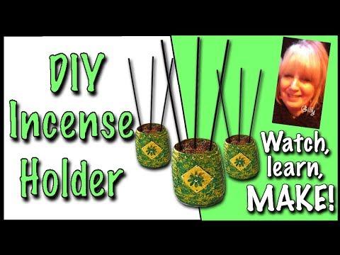 DIY Incense Holder (2018)