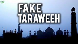 FAKE TARAWEEH SALAH