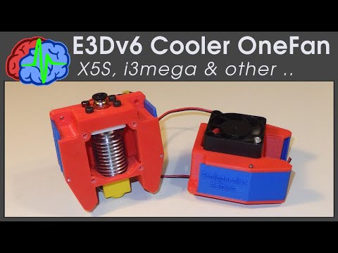 E3D v6 Cooler Scolopendra for Tronxy X5S, i3mega and other