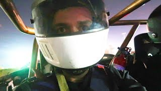 RIDING INSIDE A RACE CAR! (scariest thing I