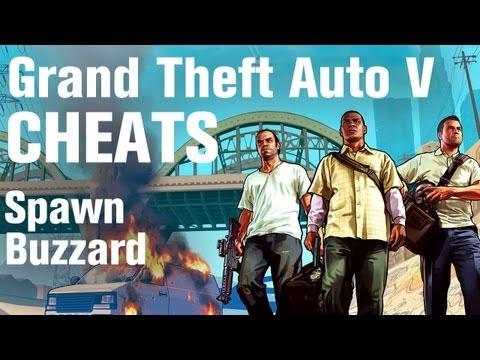 GTA 5 Cheats - Spawn Buzzard