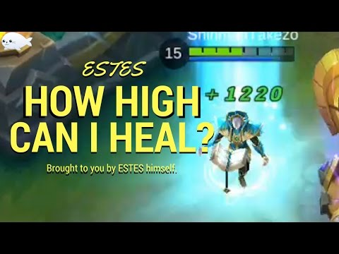WHAT IS ESTES' MAX HEAL? | WTFacts #1 | Mobile Legends