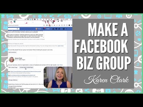 How to Make a Facebook Business GROUP–Link Your Business Page to a Group or Group to a Business Page