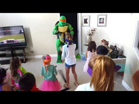 Ninja Turtle Weapons Lesson
