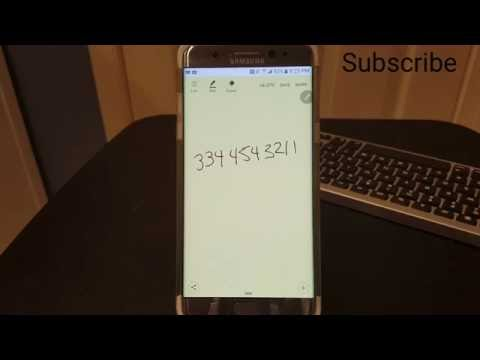 How to get Action Memo on the Samsung Galaxy Note 7