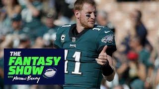 Field Yates not panicking over Carson Wentz injury | The Fantasy Show | ESPN