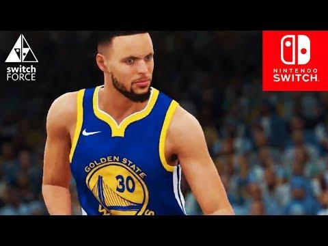 NBA 2K18 Switch Gameplay - IS IT GOOD ENOUGH? FULL GAME NBA 2k18 Nintendo Switch