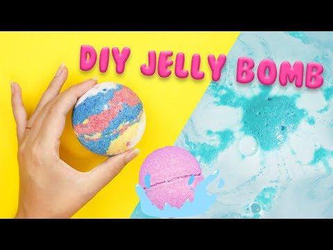 DIY JELLY BOMB   Lush's New Bath Bomb Inspired 💦