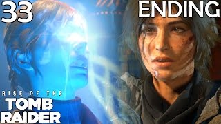 Rise Of The Tomb Raider Walkthrough Part 33 - Battle For The Divine Source (Ending)