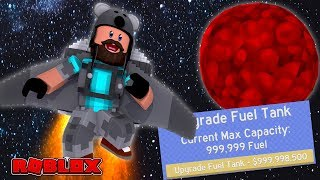 MAX HEIGHT WITH MAX FUEL!! | Jetpack Simulator | ROBLOX