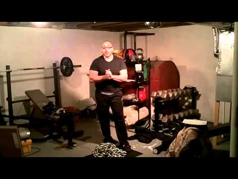 Chain Exercise for Max Power (Clean and Press)