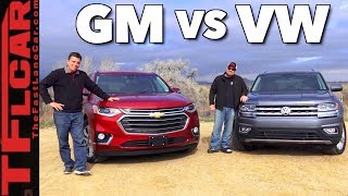 Will Your Family Fit? 2018 Chevy Traverse vs VW Atlas Review