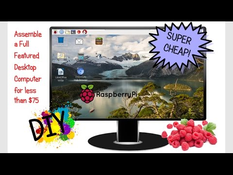 How to Assemble an Inexpensive Desktop Computer Using the Raspberry Pi 3