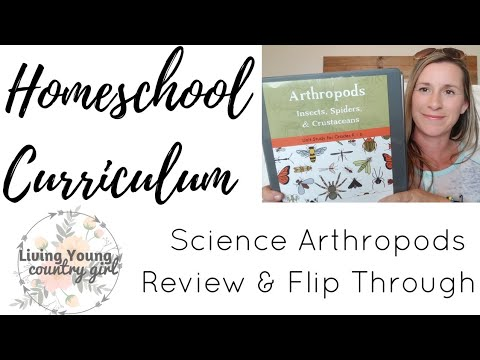 The Good and The Beautiful || Arthropods  Science Review & Flip Through