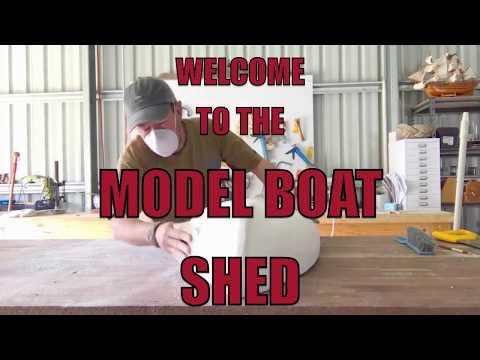 Model Boat 2 - Making the Australian Couta boat
